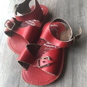 Hush Puppy infant leather sandals- size 2